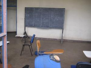 Classroom I was assigned on first day of class.