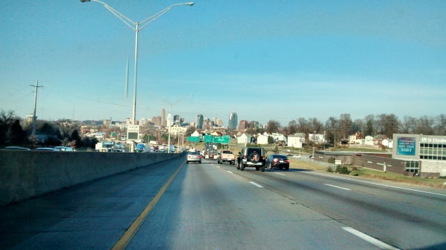 Approaching Cincinnati