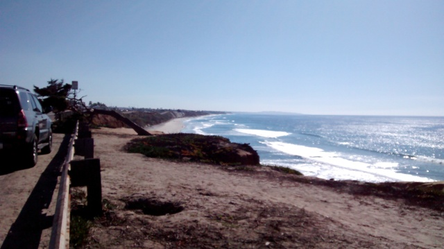 Beach near San Diego