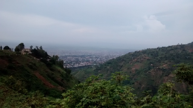 Looking over Bujumbura