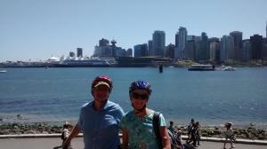 Biking in Vancouver